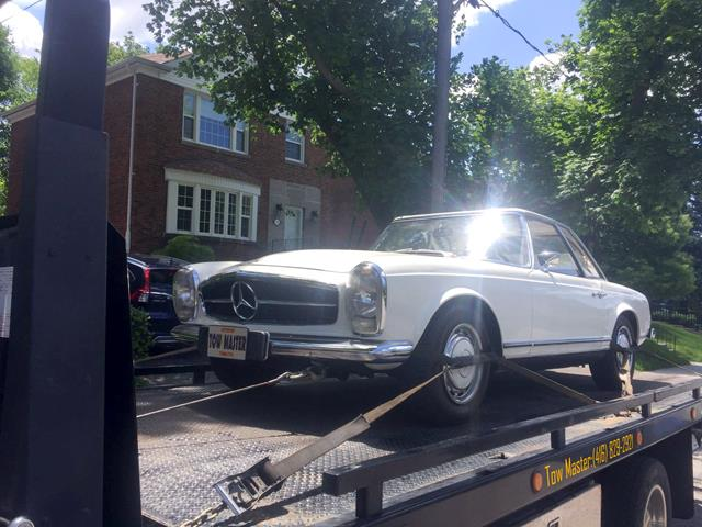 Classic Vehicle Safe Towing by Tow Master in Pickering