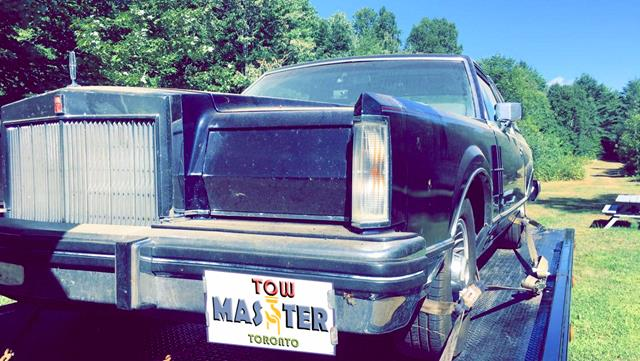Classic Vehicle Safe Towing by Tow Master in AJAX