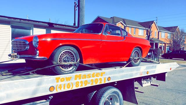 Classic Vehicle Safe Towing by Tow Master in north York