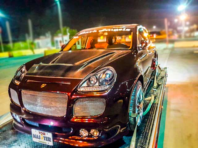 Luxury Vehicle Safe Towing by Tow Master in Scarborough